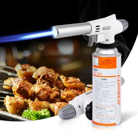 Horák 920 Wind Fully Automatic Electronic Flame Gun Butane Burners Gas Adapter Torch Lighter