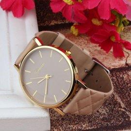 Elegantné dámske hodinky Geneva / Poštovné ZADARMO!