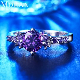 Prsten CZ Diamond Jewelry Engagement Bague Bijoux Wedding Accessories MSR199