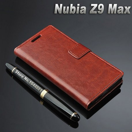 Pouzdro pro ZTE Nubia Z9 MAX, flip, peněženka, PU kůže