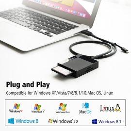 Čtečka paměťových karet Ugreen USB 3.0, vše v jednom