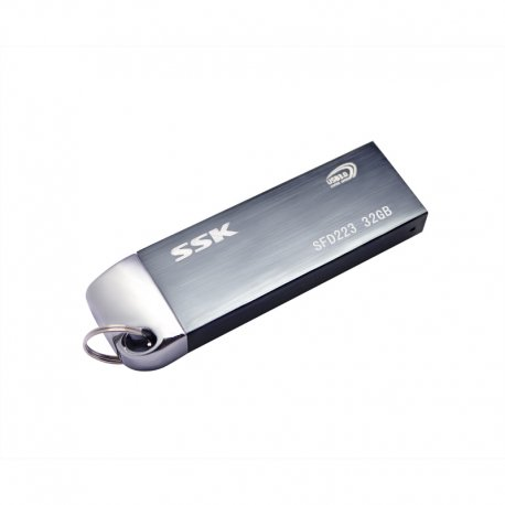 Flash Disk SSK SFD223 16GB 32GB 64GB 128GB 256GB, USB 3.0, kov