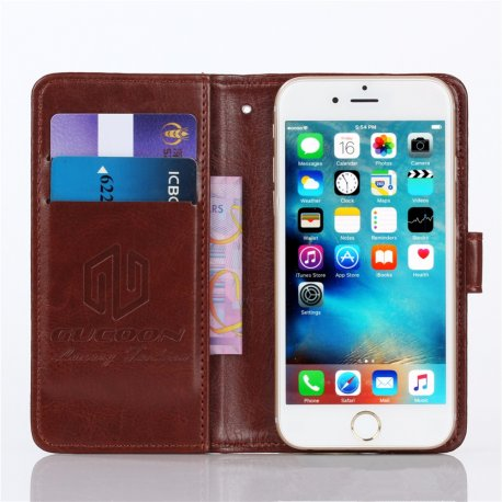 """Pouzdro pro Iget Blackview Breeze V2 4.5"""", flip, peněženka, PU kůže"""