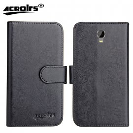 Case for Oukitel K6000 Plus, flip, wallet, PU leather