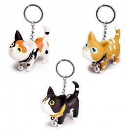 Přívěšek na klíče / Koťátko , 6.5cm klíčenka