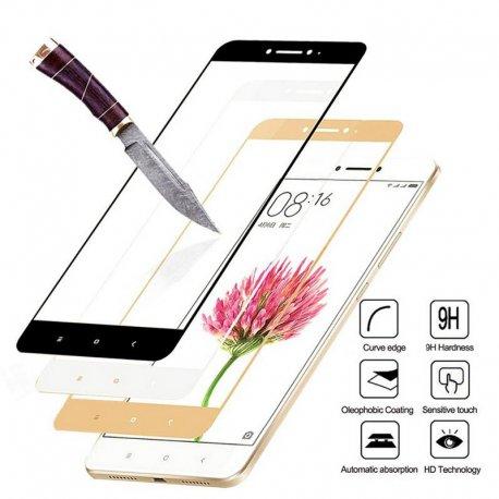 Tvrzené sklo pro Xiaomi Redmi Note 4 Xiaomi Redmi Note 4 PRO, Tempered glass 9h, uplne pokryti displeje
