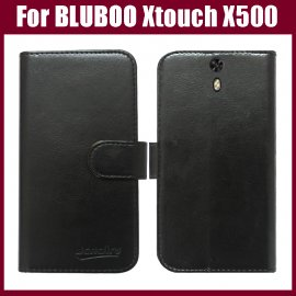 Case for BLUBOO Xtouch X500, flip, magnet, wallet, PU leather