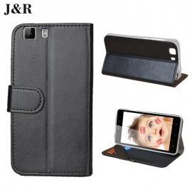Case for DOOGEEE X5 DOOGEE X5 FOR DOOGEE X5S, flip, magnet, stand, wallet, PU leather