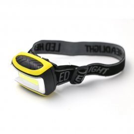 LED Headlamp / Torch, 3 Mods, COB, waterproof