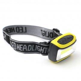 Čelovka / Svítilna LED, 3 Mody, COB, voděodolná
