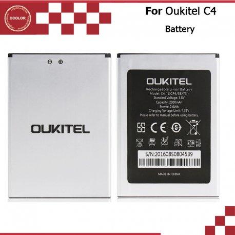 Baterie pro Oukitel C4, 2000mAh, Original