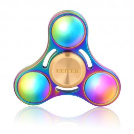 Fidget Spinner EEIEER, NSK R3 high speed bearing, Titanium Alloy