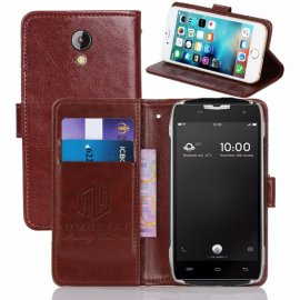 Case for Doogee T5 T5S, flip, stand, wallet, PU leather