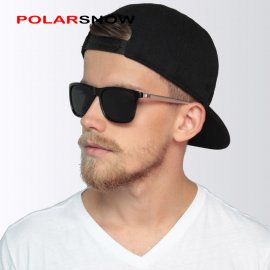 POLARSNOW sunglasses, polarized, Aluminum + TR90, UV400