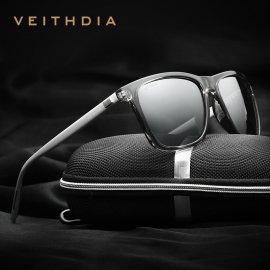 Slnečné okuliare VEITHDIA 6108, polarizované, Aluminum + TR90, UV400