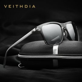 Sunglasses VEITHDIA 6108, polarized, Aluminum + TR90, UV400