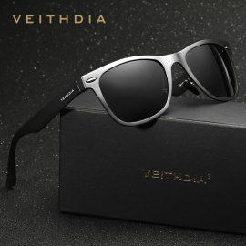 Sunglasses VEITHDIA VT2140, polarized, Aluminum