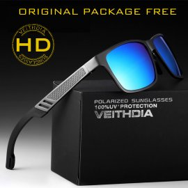 Sunglasses VEITHDIA 6560, HD polarized, Aluminum