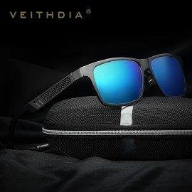 Sluneční brýle VEITHDIA 6560, HD polarizované, Aluminum