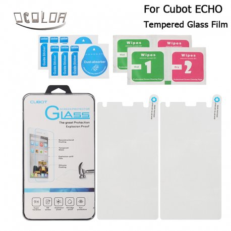 Tvrzené sklo pro Cubot ECHO, Tempered glass 9H, Anti explosion