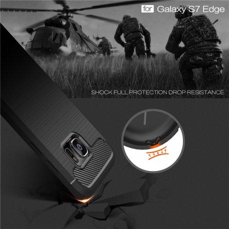 Pouzdro pro Samsung Galaxy S6 S7 S7 edge S8 S8 PLUS S8+, nárazuvzdorné