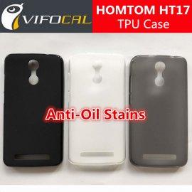 Case for HOMTOM HT17 HOMTOM HT17 PRO, TPU matt silicone