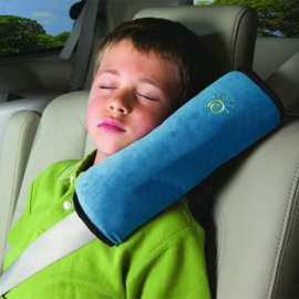 Lining for seat belts, pillows for car seat belts
