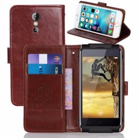 Case for HomTom HT20 PRO, flip, stand, wallet, PU leather