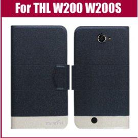Pouzdro pro THL W200 W200S, flip, stojánek, magnet, PU kůže