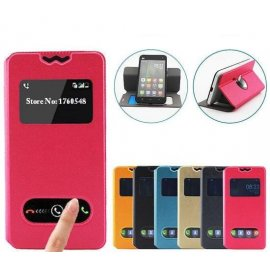 Case for ULEFONE BE TOUCH 3, View Window, PU leather
