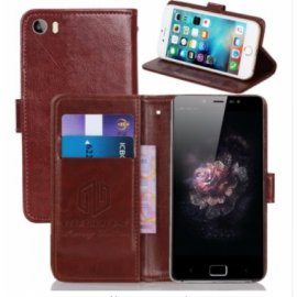 Puzdro pre Leagoo Elite 1, flip, magnet, peňaženka, PU koža