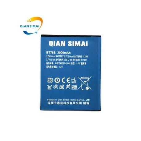 Baterie pro ZOPO C2 C3 2A 980 980+ ZP980 9515 BT78S 2000mAh