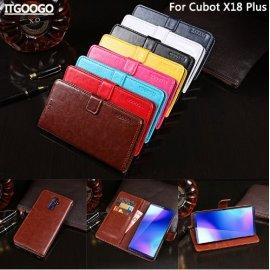 Pouzdro pro Cubot X18, flip, stojánek, peněženka, PU kůže