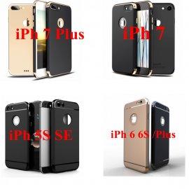 Pouzdro pro Apple iPhone 6 6S 7 Plus 5 5S SE, tvrdý plast