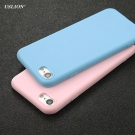 Case for Apple iPhone 7 6 6s Plus 5 5s SE, Soft TPU, Ultrathin
