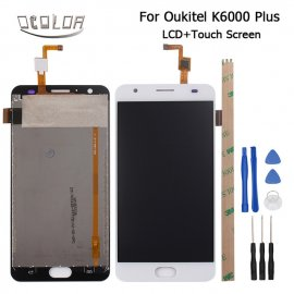LCD screen for Oukitel K6000 Plus + touchscreen digitizer + tools