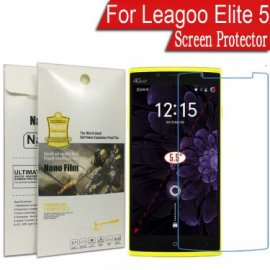 Tempered glass for LEAGOO Elite 5, Nano soft glass 9H, Anti explosion