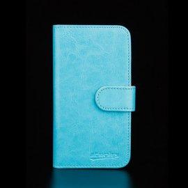 Pouzdro pro HomTom HT70, flip, stojánek, peněženka, PU kůže