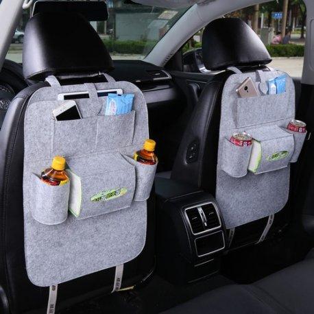 Organizér do auta na zadní sedadla, univerzální