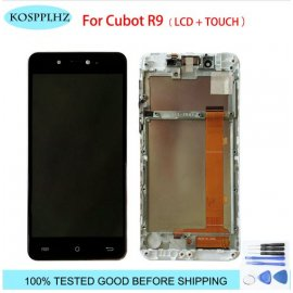 Replacement touch screen + LCD for Cubot R9 + digitizer tools