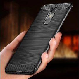 Puzdro pre Xiaomi Redmi 5 Plus Xiaomi Redmi 5, nárazuvzdorné, carbon, silikón TPU