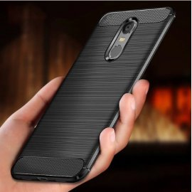 Case for Xiaomi Redmi Note 4X Redmi Note 4 Global Version / Note 4X Pro, shockproof, carbon, silicone TPU