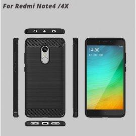 Pouzdro pro Xiaomi Redmi Note 4X Redmi Note 4 Global Version /Note 4X Pro, nárazuvzdorné, carbon, silikon TPU