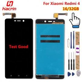 Náhradní dotyková obrazovka digitizer + LCD pro Xiaomi Redmi 4 Pro Redmi 4 Redmi4 / Prime 5.0 inch + rámeček + nástroje