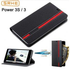 Puzdro pre Ulefone Power 3 Ulefone Power 5 Ulefone Power 3S, flip, peňaženka, stojan, PU kože