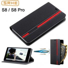 Puzdro pre Ulefone S8 Ulefone S8 Pro, flip, peňaženka, stojan, PU kože