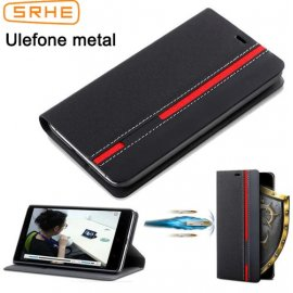 Case for Ulefone Metal, flip, wallet, stand, PU leather
