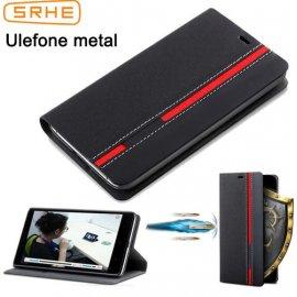 Puzdro pre Ulefone Metal, flip, peňaženka, stojan, PU kože
