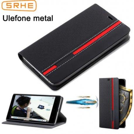 Pouzdro pro Ulefone Metal, flip, peněženka, stojánek, PU kůže