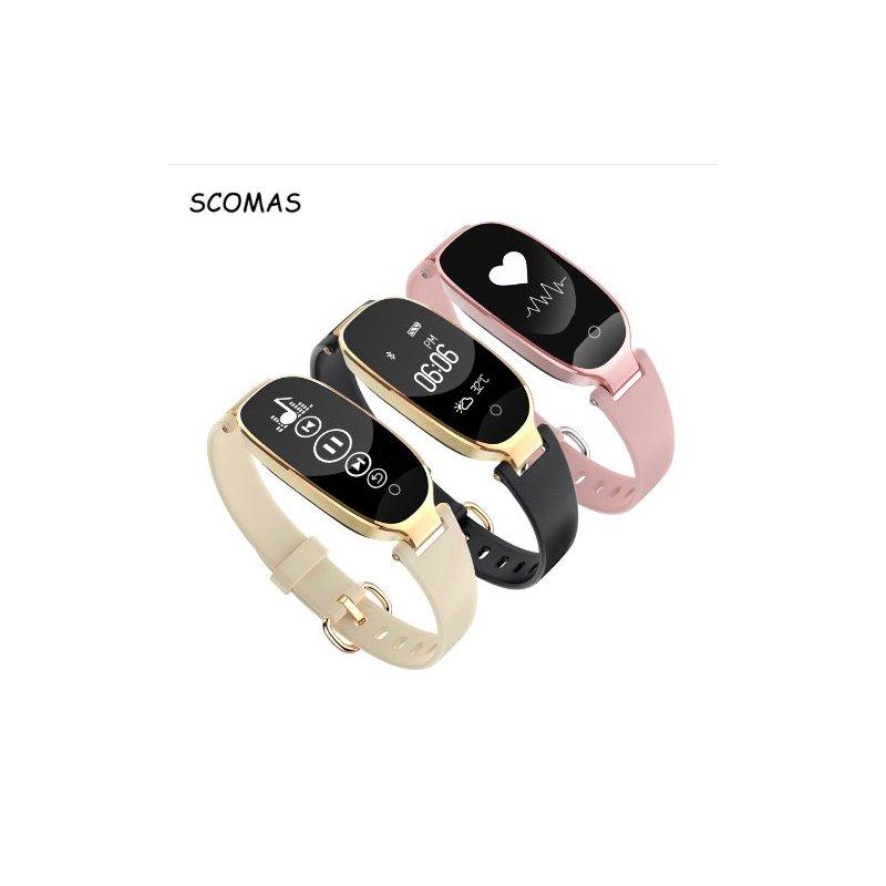 9763639f29 Nádherné dámské chytré hodinky SCOMAS S3